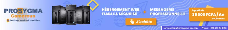 HÉBERGEMENT WEB & MESSAGERIE PROFESSIONNELLE